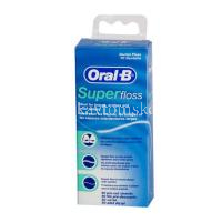 Зубная нить ORAL-B Super Floss 50м (Oral-B Lab/Ирландия)